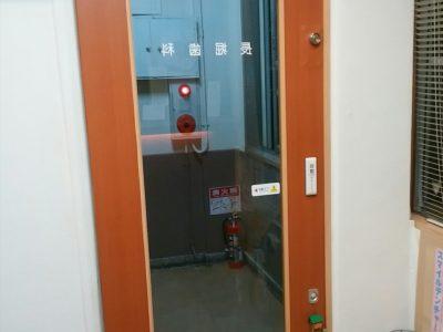 後付け自動ドア オートスライドの施工について