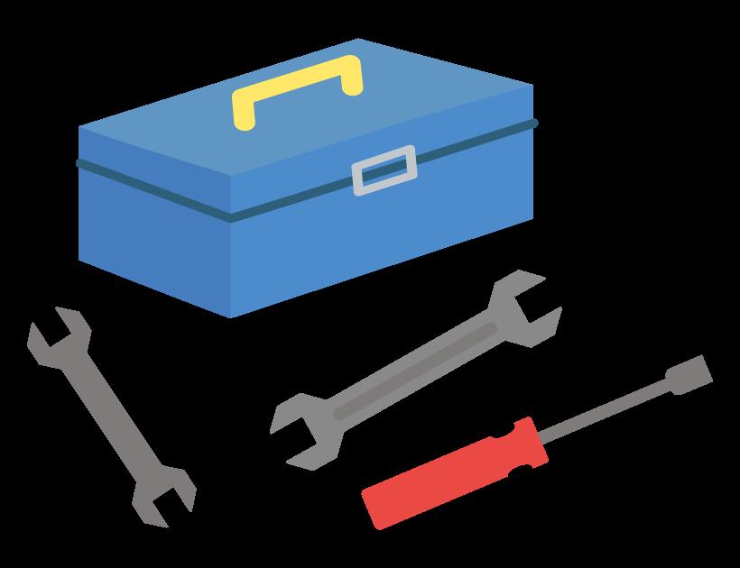 オートスライドの施工に必要な工具